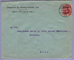 Brief Berlin W 64 Top Abstempelung 1906 Nach Wien (525) - Briefe U. Dokumente