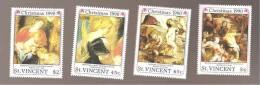 - 2861 A -  Nrs 1230 N - P-Q- R - St.Vincent (1979-...)