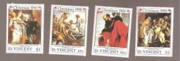- 2862 A -  Nrs 1230  I - K - L - M - St.Vincent (1979-...)