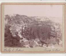 PHOTO 89 MAILLY LE CHATEAU Panorama Sur Les Toitures De Bourg Du Bas Période Fin XIX° Format 12.5 X 9.5 Cms Rare - Places