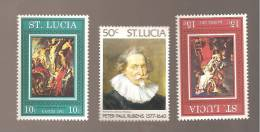 - 2866 A -  Nrs 433/35 - St.Lucia (1979-...)