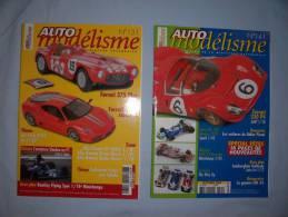 Magazine Auto Modélisme  (n°131) (janvier) (n°141) (decembre)  (2008) - Autres Collections