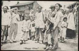 China  HAPPY CHINA   The Universal Postcard & Picture Co. Shanghai - China