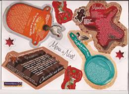 10  Magnets Grands Modeles - Recettes De  Cuisine - Reklame