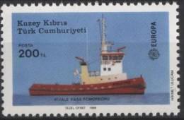 PIA  -  CIPRO  TUR.  -  1988  : Europa  (Un  212-13) - 1988