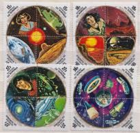 Burundi MNH Airmail Set - Astrology
