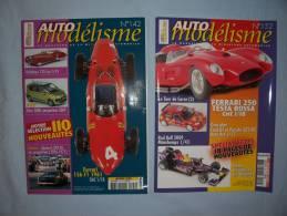 Magazine Auto Modélisme (n°142) (janvier) (n°152) (decembre) (2009) - Autres Collections