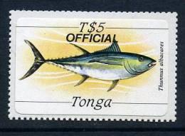 Tonga 1984 T$5 Official Fish Self Adhesive, MNH - Tonga (1970-...)