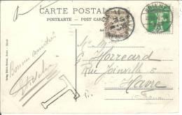 Ta 29 Sur Cpa Mühlebachfall An Der Brienz-Rothorn-bahn (suisse) Affranchie N°130 - 1859-1955 Lettres & Documents