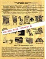 Factuur Van 1941 - BRUXELLES - ERPS-QUERBS - Ets Gh. De WOELMONT -Fabricant, Constructeur : Voir Illustration Au Verso - Belgique