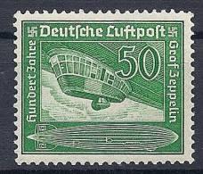 Reich - Poste Aérienne YT N°58 ** / Deutsches Reich Luftpost Mi.Nr. 670 ** - Airmail