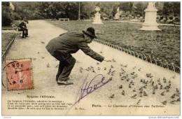 75 PARIS - Le Charmeur D'oiseaux Aux Tuileries - Scipion L'Africain - Artisanry In Paris