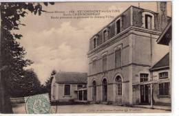 Secondigny-en-Gatine..Ecole Charbonneau..Ecole Primaire Supérieure De Jeunes Filles - Secondigny