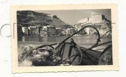 Bonifacio (20) :Vue Générale Prise Des Cordage De Bouets Devant  La Plage Env 1956 (animée) PHOTO RARE - Lieux