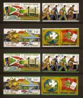 Burundi 1974 OBCn° 644-51 + PA LP 346-53 *** MNH Cote 19,50 Euro UPU - Burundi
