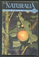 NATURALIA N°15/1954 La Vie Dans La NATURE : Truffe Galles Chat Sauvage Gévaudan - Animals