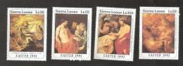 - 2929 A -  Nrs 1334/37 - Sierra Leone (1961-...)
