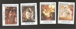 - 2930 A -  Nrs 1306/09 - Sierra Leone (1961-...)