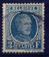 Belgique : 208 CU Impression Floue  (o) - 1922-1927 Houyoux