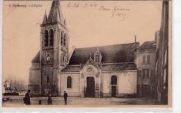 Châtenay..Châtenay-Malabry..animée..belle Vue De L'Eglise - Chatenay Malabry