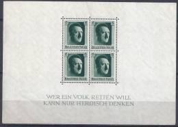 IIIe Reich -  Bloc YT N°8 ** / 3. Reich Block Mi.Nr. 7** - Blocks & Kleinbögen