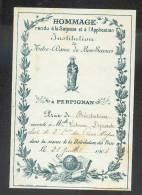 Perpignan 1904 Prix De Récitation Notre-Dame De Bon Secours - Old Paper