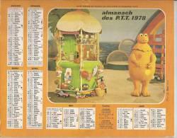 Almanach Des PTT 1978 Casimir  (76 Seine Maritime) - Petit Format : 1971-80
