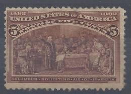 ETATS - UNIS -  1893  -  N° 85 - X - B - - Unused Stamps
