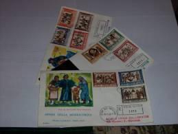 FDC RODIA - OPERE DI MISERICORDIA - VG - 8.11.1960 - FDC