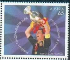 Autriche Austria 2008 - Espagne, Vainqueur De La Coupe D´Europe De Football, Euro 2008 /  Winner Of Europe´s Soccer Cup - UEFA European Championship