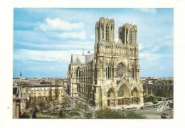 Cp, 51, Reims, La Cathédrale Notre-Dame, Voyagée 1989 - Reims