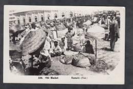 CPSM Photo  - KARACHI - Old Market -  1957 - Pakistan