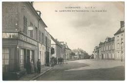 Cpa:27 SAINT CYR DU VAUDREUIL (ar. Les Andelys) Grande Rue(Café Restaurant)N° 62 - France