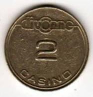 Casino Divonne : 2 (francs) - Casino