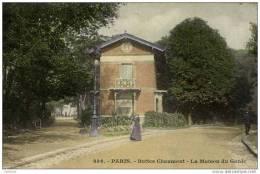 PARIS -XIXè-Buttes Chaumont-La Maison Du Garde- - Arrondissement: 19