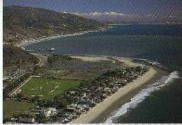 PEQUE�A POSTAL MALIBU COLONY  LOS ANGELES  CALIFORNIA  USA  OHL