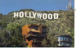 HOLLYWOOD SING  LOS ANGELES  CALIFORNIA  USA  OHL