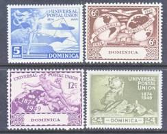 Dominica  116-9   *  U.P.U. Issue - Dominica (...-1978)