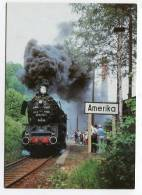 TRAIN - AK141174 Abschied Vom Plandampf Des Bw Glauchau - Lok 50 3576 .. Auf Der Muldentalbahn - Gares - Avec Trains