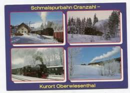 TRAIN - AK141210 Schmalspurbahn Cranzahl - Kurort Oberwiesenthal - Treni