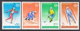 Romania  3487-90    **  WINTER  OLYMPICS - 1948-.... Republics