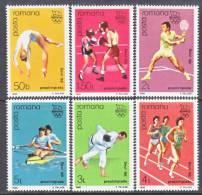 Romania  3512-17    **  SUMMER  OLYMPICS - 1948-.... Republics