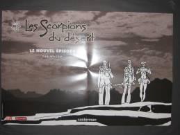Affiche WAZEM Les Scorpions Du Désert (Hugo Pratt...) - Affiches & Offsets