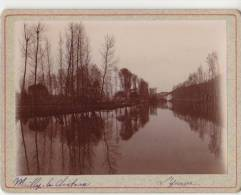 PHOTO 89 MAILLY LE CHATEAU L´Yonne Période Fin XIX° Format 12.5 X 9.5 Cms Rare - Places