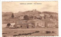 COMPS SUR ARTUBY - VAR - VUE GENERALE - Comps-sur-Artuby
