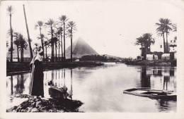CPSM EGYPTE   VUE PYRAMIDE - Damietta