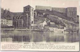 HUY - La Collégiale Et Le Fort - Huy