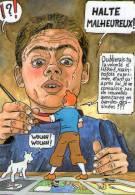 """Hommage à HERGE \""""TINTIN EN DRACENIE\"""" à Draguignan Illustrateur Michaël CROSA - Comics"""