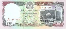 BILLETE DE AFGANISTAN  DE 5000 AFGHANIS SIN CIRCULAR- UNCIRCULATED (BANKNOTE) - Afghanistán