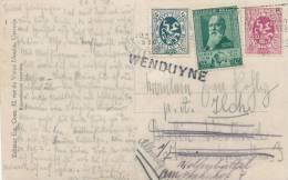 405/20 -  Carte-Vue Ostende TP Divers OOSTENDE 1930 Vers Allemagne - Griffe D' Origine WENDUYNE - Poststempel